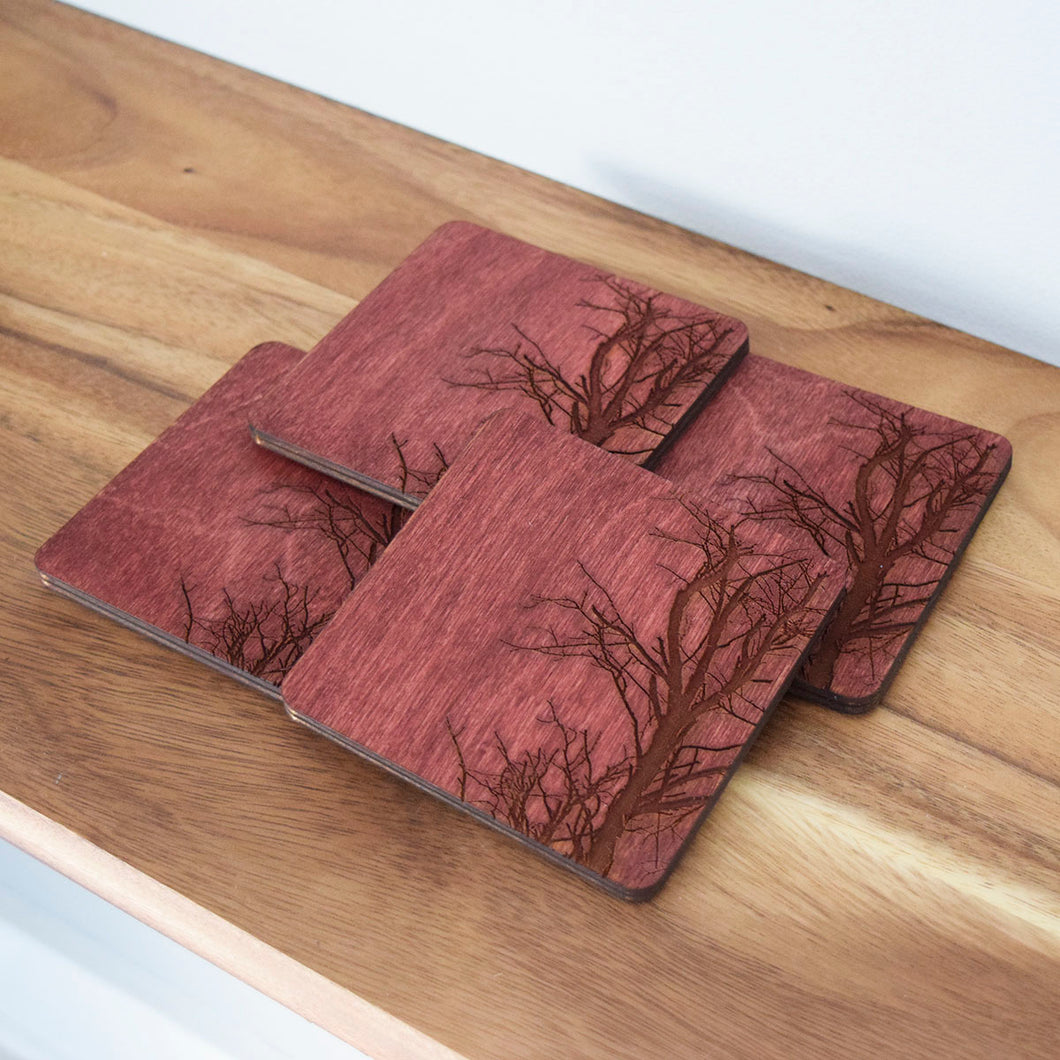 Tree Branch Coasters