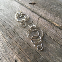 Load image into Gallery viewer, Cascade Circle Earrings