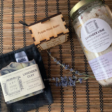 Load image into Gallery viewer, Lavender Handmade Skincare Gift Set