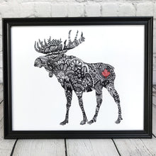 Load image into Gallery viewer, Canada Moose Art Print