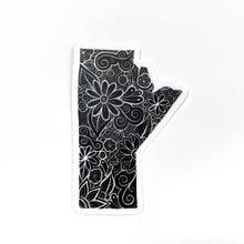 Load image into Gallery viewer, Manitoba Sticker | Black and White Floral