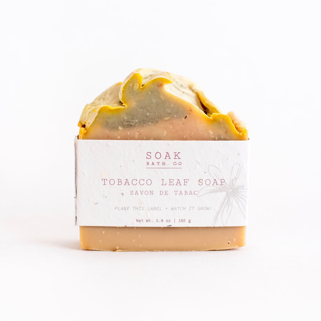 Tobacco Leaf Soap Bar