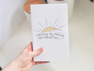 Journals | Christian Journal | Perfect Bound | Morning by Morning  | Gift Idea | Lined | Ruled | Women | Girl | Birthday