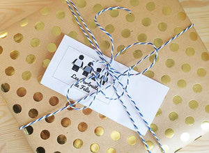 Ship your order in gift wrapping