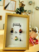 Upload the image to the gallery, A family tree made to measure in bricks, an original gift for a birthday, Christmas or Valentine's Day