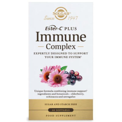 Ester-C Plus Immune Complex Softgels - Pack of 60