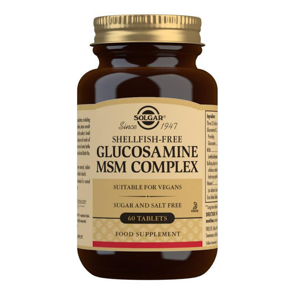 Solgar Glucosamine MSM Complex Tablets - Pack of 60