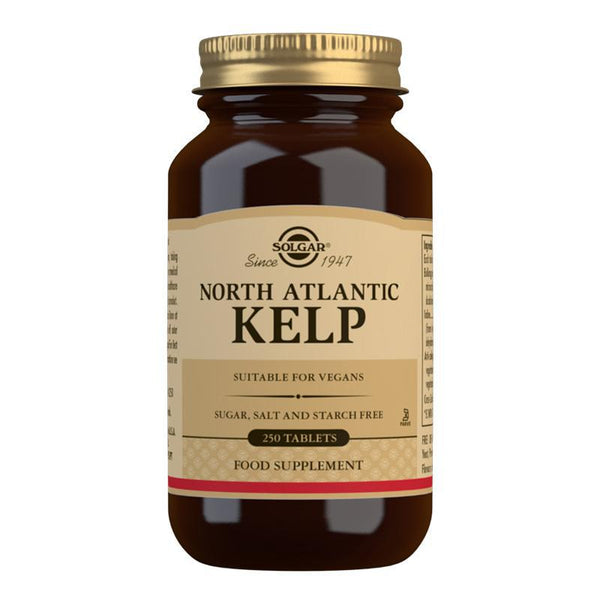 North Atlantic Kelp Tablets - Pack of 250-Minerals-Solgar