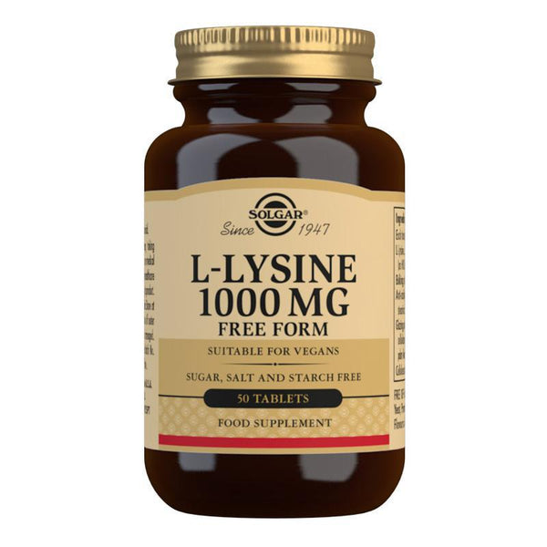 L-Lysine 1000 mg Tablets (4744186593339)
