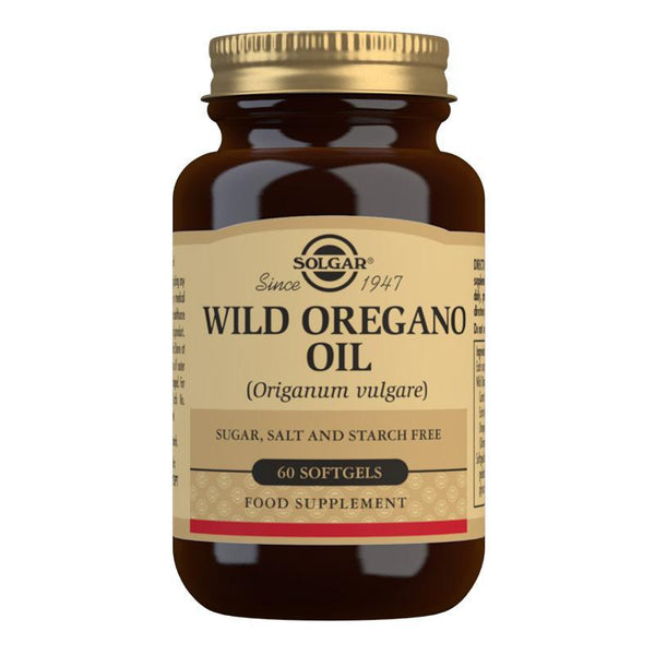 Solgar Wild Oregano Oil Softgels - Pack of 60