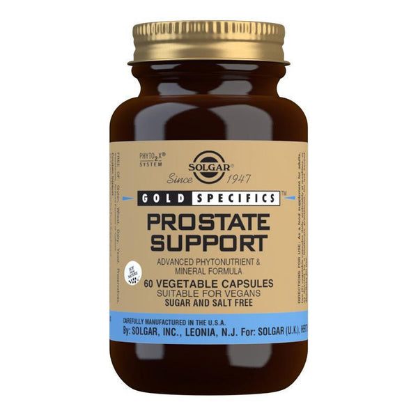 Solgar Gold Specifics Prostate Support Vegetable Capsules - Pack of 60 (4743842299963)