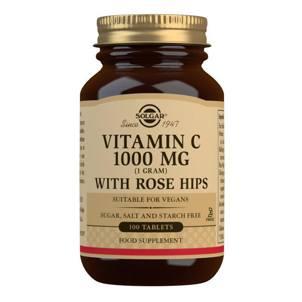 Vitamin C 1000 mg with Rose Hips Tablets (4743843086395)