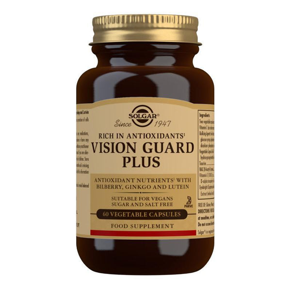 Vision Guard Plus Vegetable Capsules - Pack of 60 (4743845249083)