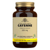 Cayenne 520 mg Vegetable Capsules - Pack of 100 (4743848296507)
