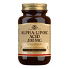 Solgar Alpha-Lipoic Acid 200 mg Vegetable Capsules - Pack of 50 (4743851966523)