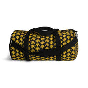 Black And Yellow Duffel Bag - Cannafitshop