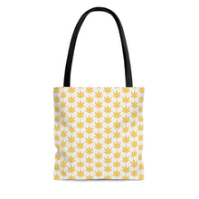 Load image into Gallery viewer, Yellow Leaf Tote Bag - Cannafitshop