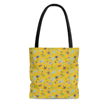 Load image into Gallery viewer, Yellow Tote Bag - Cannafitshop