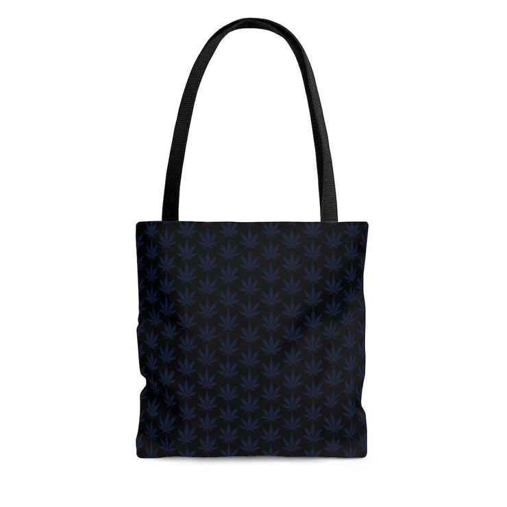 Blue Leaf Tote Bag - Cannafitshop