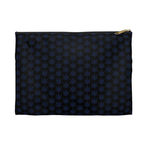 Blue Leaf Accessory Pouch - Cannafitshop