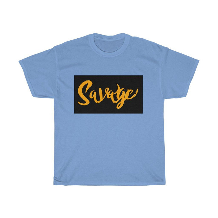 Savage Unisex Heavy Cotton Tee - Cannafitshop