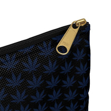 Load image into Gallery viewer, Blue Leaf Accessory Pouch - CANNAFITSHOP
