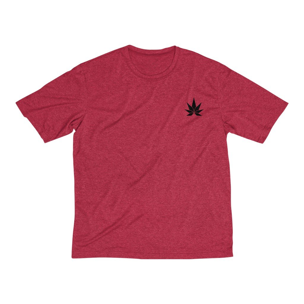 Men's Heather Dri-Fit Tee - Cannafitshop