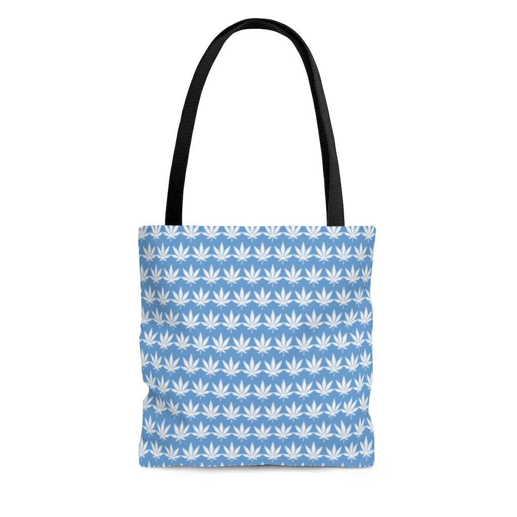 Light Blue Tote Bag - Cannafitshop