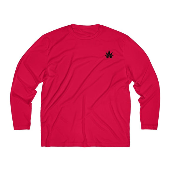 Men's Long Sleeve Moisture Absorbing Tee - Cannafitshop