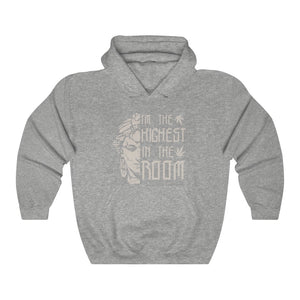 The Highest Unisex Hooded Sweatshirt - Cannafitshop