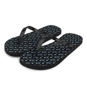 Chasing The Blues Flip-Flops - Cannafitshop