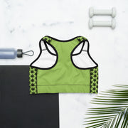 Cannafit Green Sports bra - Cannafitshop