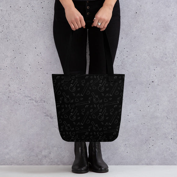 Black Tote bag - Cannafitshop