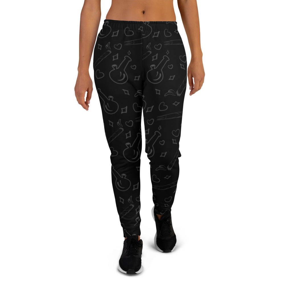 Black Women's Joggers - Cannafitshop