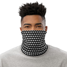 Load image into Gallery viewer, White And Black Neck Gaiter - Cannafitshop