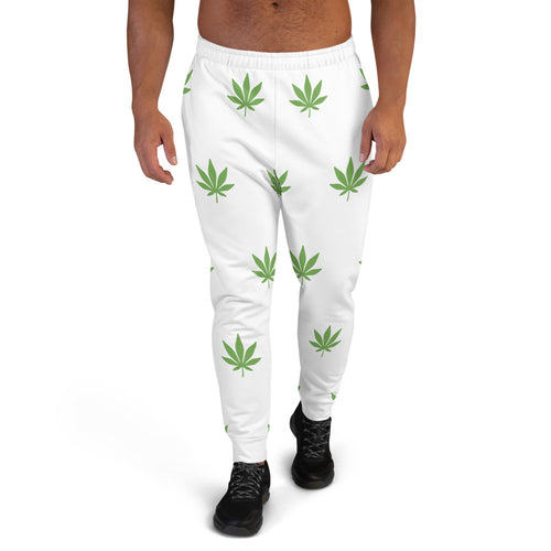 Green Leaf Men's Joggers - Cannafitshop