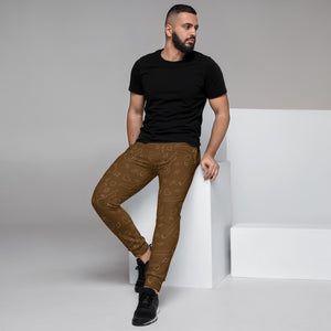 Brown Men's Joggers - Cannafitshop