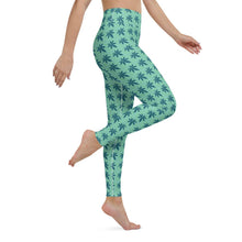 Load image into Gallery viewer, Green Land Yoga Leggings - Cannafitshop