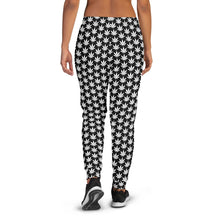 Load image into Gallery viewer, Black And White Women's Joggers - Cannafitshop