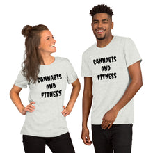 Load image into Gallery viewer, Fitness Short-Sleeve Unisex T-Shirt - cannafitshop