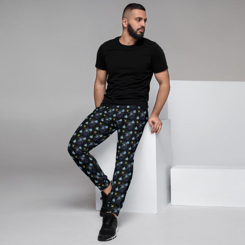 Chasing The Blues Men's Joggers - Cannafitshop