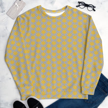 Load image into Gallery viewer, Yellow Leaves Unisex Sweatshirt - Cannafitshop