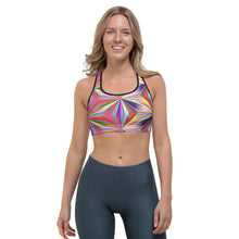 Load image into Gallery viewer, Endless Colors Sports bra - Cannafitshop
