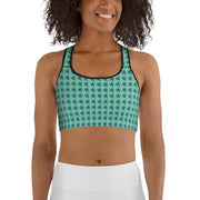 Green Land Sports bra - Cannafitshop