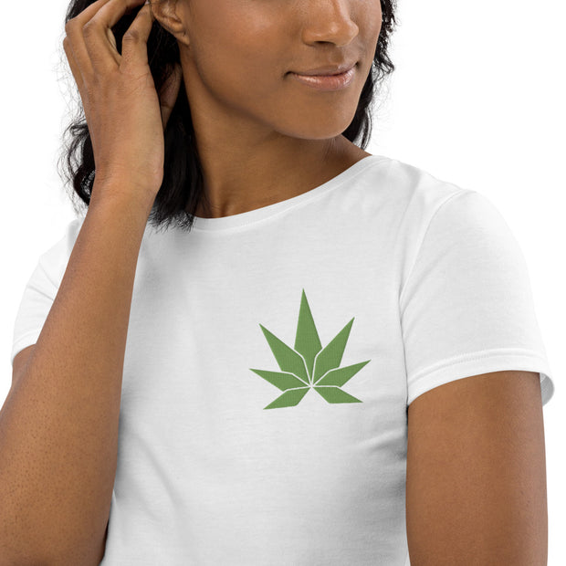 Green Leaf Organic Crop Top - Cannafitshop