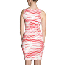 Load image into Gallery viewer, White And Red Cut & Sew Dress - Cannafitshop