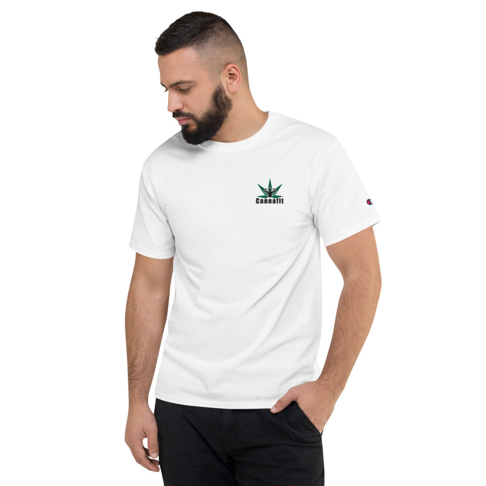 Cannafit Men's Champion T-Shirt - Cannafitshop