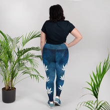 Load image into Gallery viewer, Day Dream All-Over Print Plus Size Leggings - Cannafitshop