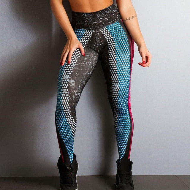Don't Stop High Waist Push Up Legging - Cannafitshop