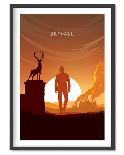Disney Pixar Up Movie Poster - Wolf and Rocket